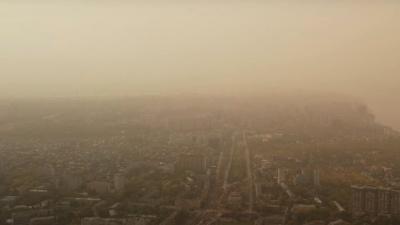 Появилось видео последствий грязевого дождя, который прошел в Самаре