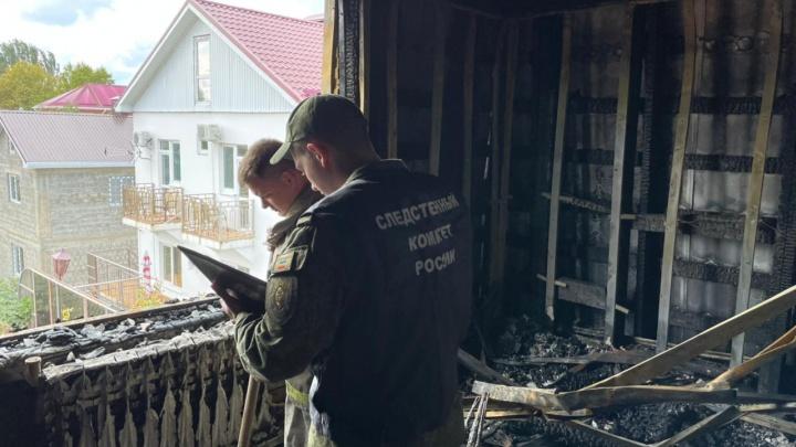В Анапе семейная пара погибла в пожаре