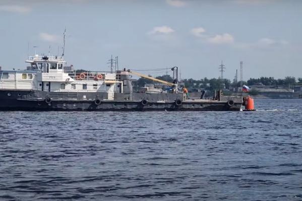 Рядом с местом крушения «Барракуды» курсирует другое судно