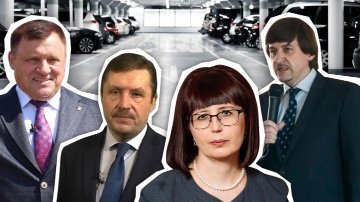 От «крузака» до УАЗа. Тюменские чиновники показали свои гаражи