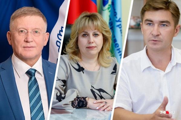Александр Шестаков (слева) и Сергей Таскаев — лидеры среди ректоров по уровню доходов, а Светлана Черепухина пока похвастать таким не может