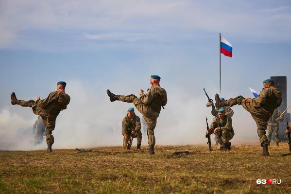 Специальное подразделение военных в запасе назвали «БАРС»