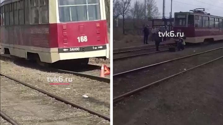 Трамвай сбил насмерть 83-летнюю бабушку в Черёмушках