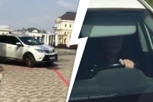 В Екатеринбурге — новый конфликт из-за езды по тротуару