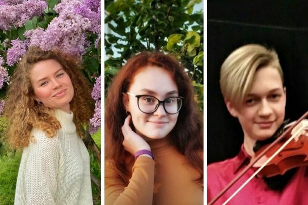 На фотографии слева направо: Анна Айгельдина, Екатерина Шакирова и Ярослав Арамелев, погибшие во время стрельбы