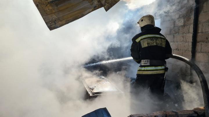 В Волгограде пожар едва не убил девочку-подростка