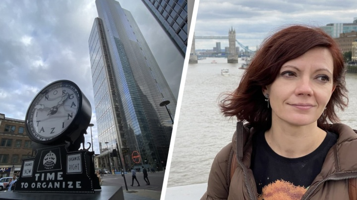 Уехала жить в Лондон: журналист E1.RU поменяла родной Екатеринбург на британскую столицу