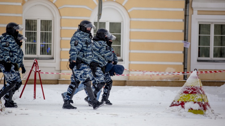Полиция выдала официальные данные о массовых задержаниях на воскресном митинге в Ярославле