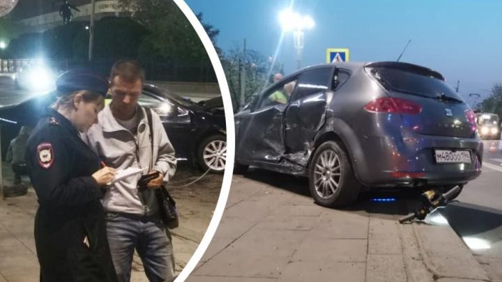 Водителя SEAT, влетевшего в пешеходов возле Оперного театра, арестовали со второй попытки