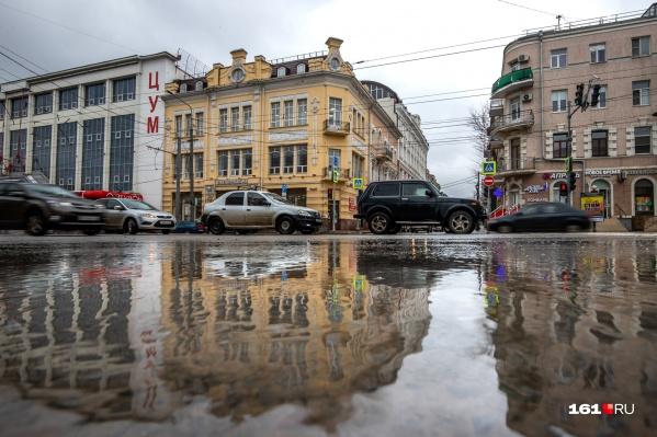 В Ростове потеплеет лишь к пятнице