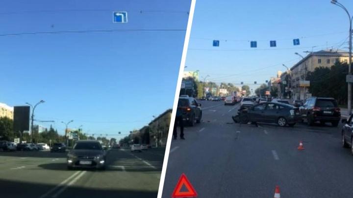 Появилось видео лобового ДТП на Кирова — вчера в нем пострадала семья