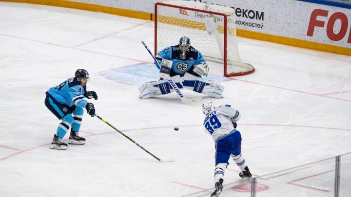 Лишились места в плей-офф: «Сибирь» проиграла «Барысу» в домашнем матче