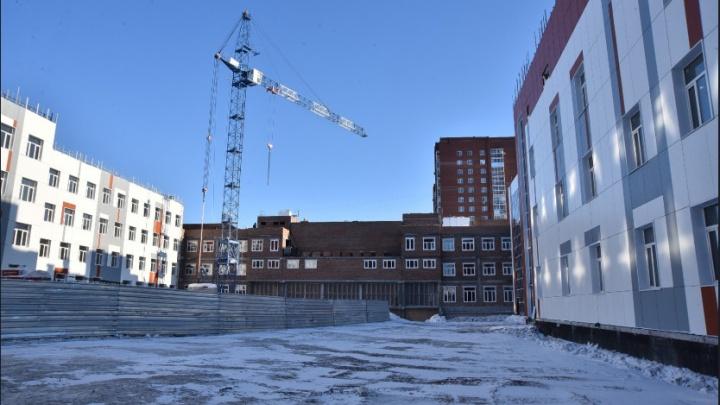 Губернатор пообещал удвоить количество строящихся школ в Новосибирской области