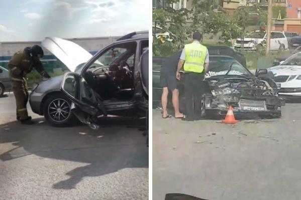 Водителю потребовалась помощь не только скорой помощи, но и спасателей