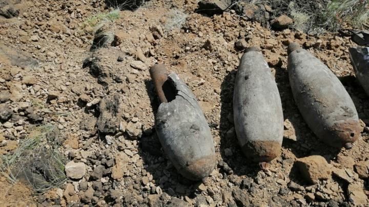 В селе под Самарой взорвали 24 авиабомбы