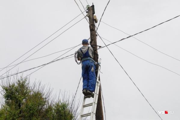 Свет отключат в Кировском, Советском и Краснооктябрьском районах