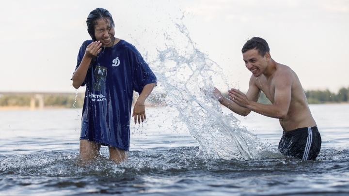 Да будет пляж: в Волгограде разрешили купаться в первом открытом месте отдыха у воды
