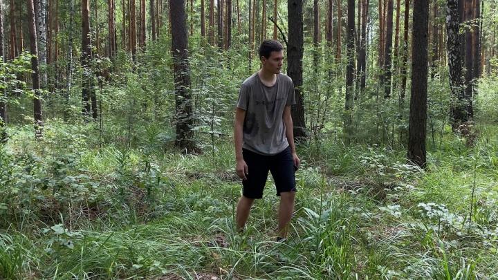 Ел муравьев, спал на траве и не пил три дня: потерявшийся 15-летний школьник — о том, как шесть дней жил в лесу