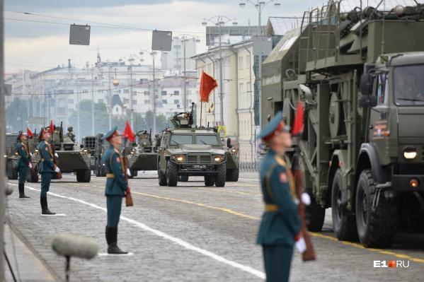 Парад Победы в прошлом году провели в июне