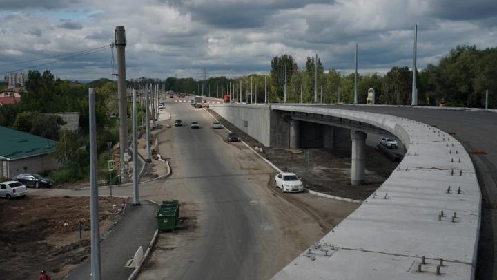 Названы сроки открытия движения по развязкам Самарского (Фрунзенского) моста