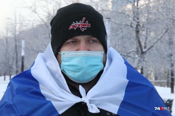 Артёма Яумбаева задержали в самом начале акции протеста