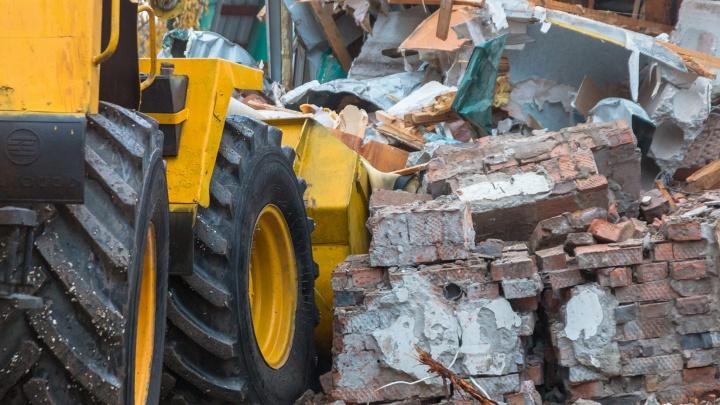 В центре Самары снесут еще два аварийных дома
