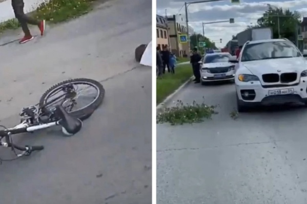Одна из тяжелых аварий с велосипедом