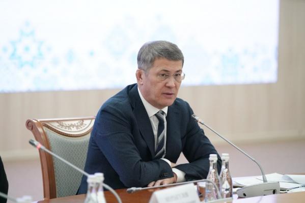 Свою позицию Хабиров высказал еще накануне