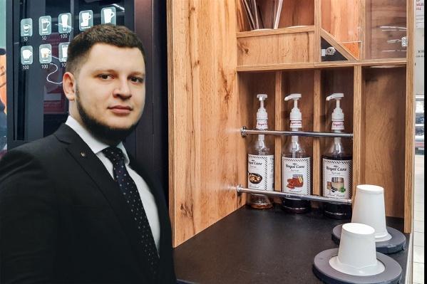 Бизнесмен получил миллион на создание кофейни самообслуживания