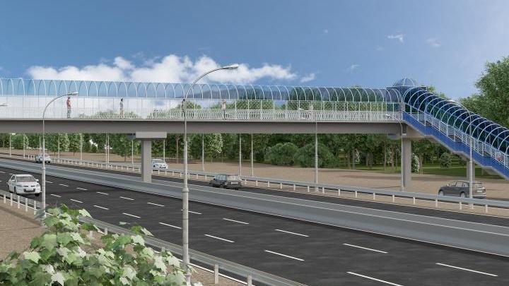 Строительство перехода на полгода затруднит проезд по Южному подъезду к Ростову