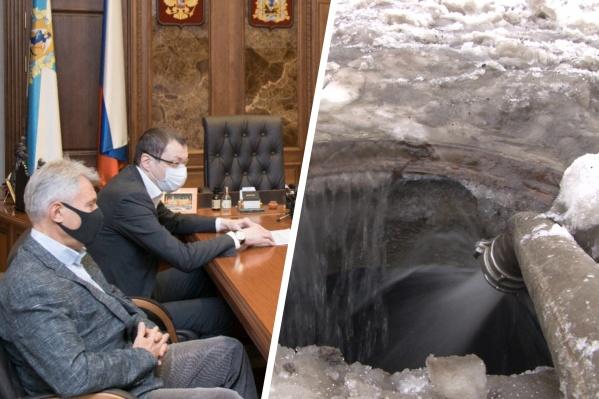 Концессионное соглашение относительно центральных очистных Архангельска еще готовится