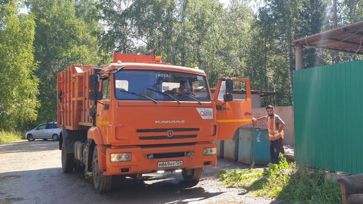 Единую площадку для сбора мусора организовали 13 садовых обществ Красноярска