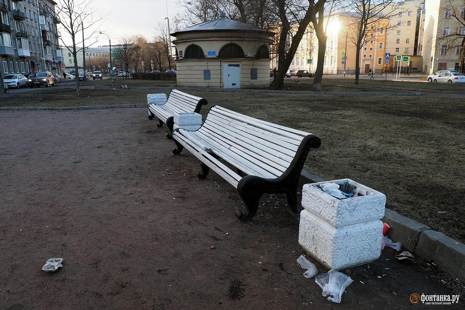 Бульвар на улице Циолковского