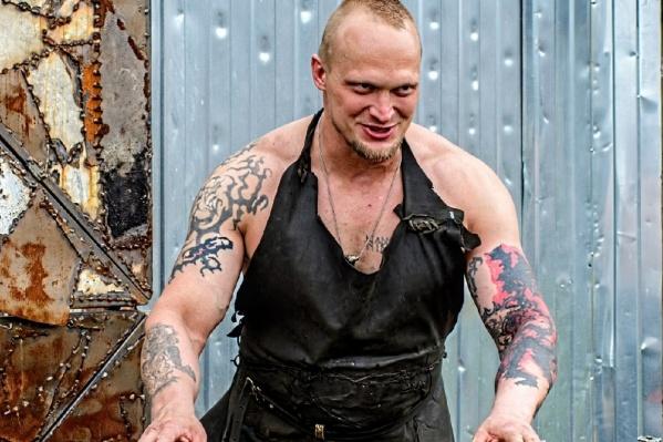 Александр Беляков — кузнец из Рыбинска