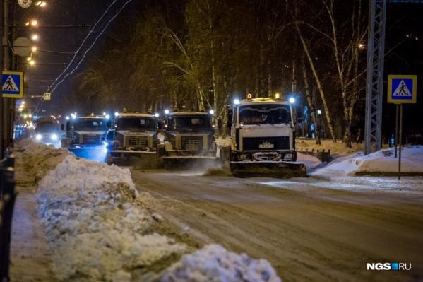 В прошлом году жители Новосибирска жаловались на плохую уборку снега