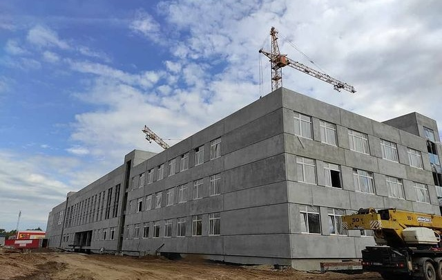 Новый корпус школы на Юнг Прикамья примет учеников уже в следующем году