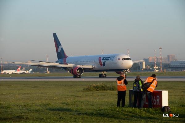 Утром сотни туристов из Екатеринбурга улетели отдыхать в Турцию