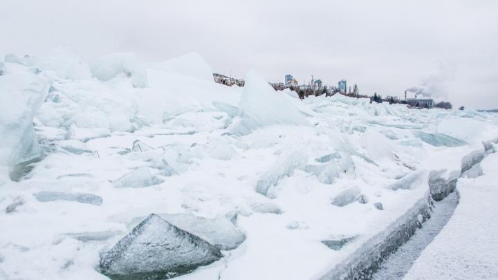 В Самарской области мужчина провалился под лед