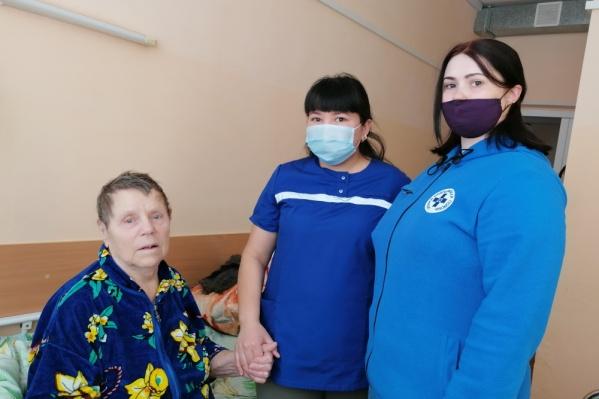 Женщине 86 лет, день в больнице за нее дышал аппарат ИВЛ