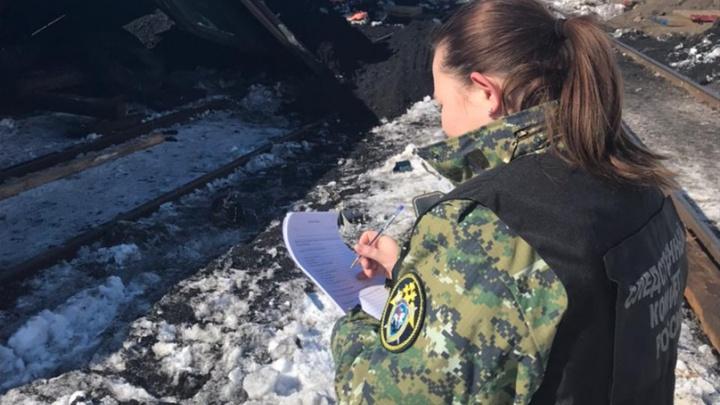 В Самарской области возбудили уголовное дело схода вагонов с рельс под Сызранью