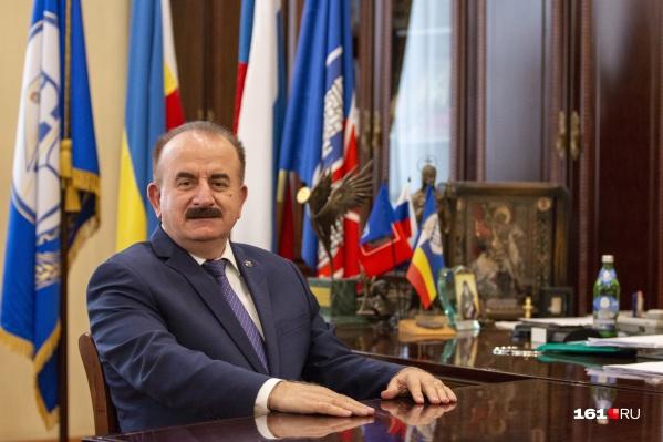 Бесарион Месхи за прошлый год увеличил свой доход на 2,6 миллиона рублей