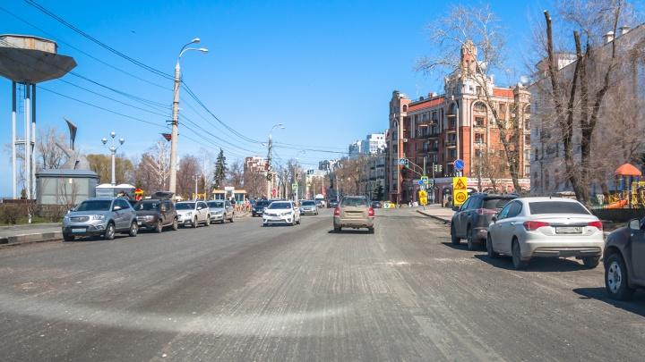 В Самаре перекроют улицу Максима Горького из-за прокладки газовой трубы