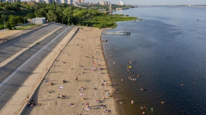Сделаем биотуалет и кабинки: в Волгограде мэрия готовит к открытию второй пляж