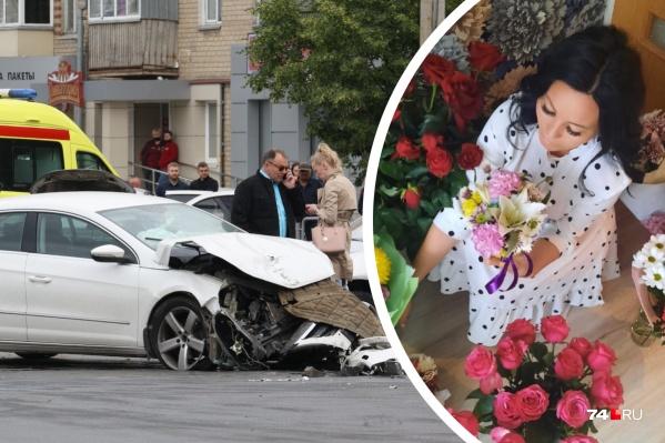 Семья на «Гранте» попадала в аварию недалеко от своего дома