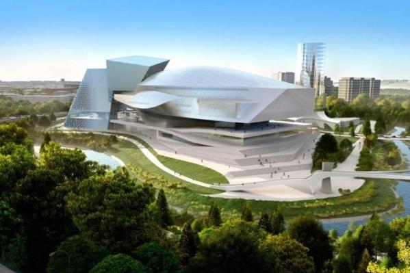 Так будет выглядеть музейный комплекс