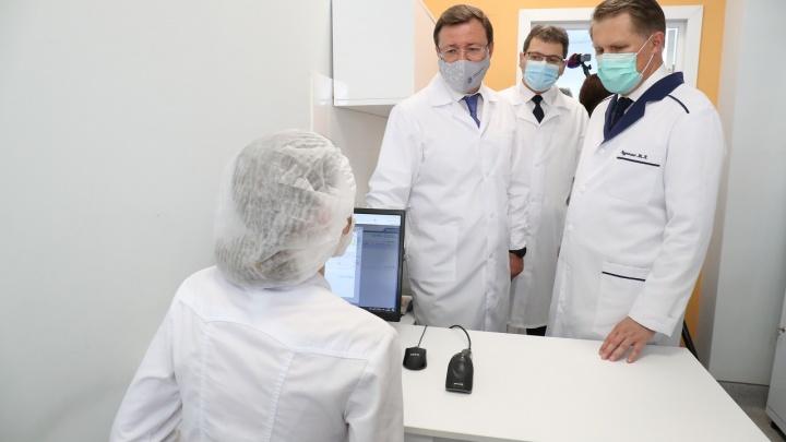 Глава Минздрава РФ и губернатор открыли новый инфекционный корпус для лечения пациентов с COVID-19