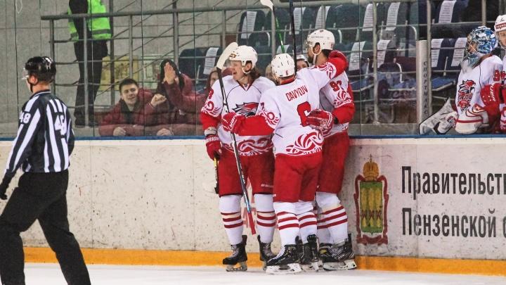 ХК «Ростов» впервые в истории вышел в плей-офф ВХЛ