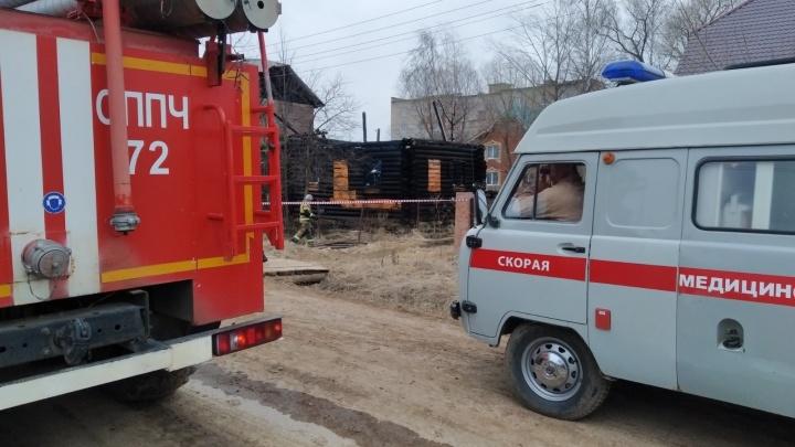 В Кудымкаре сгорел частный дом: погибли 8человек, в том числе 2ребенка
