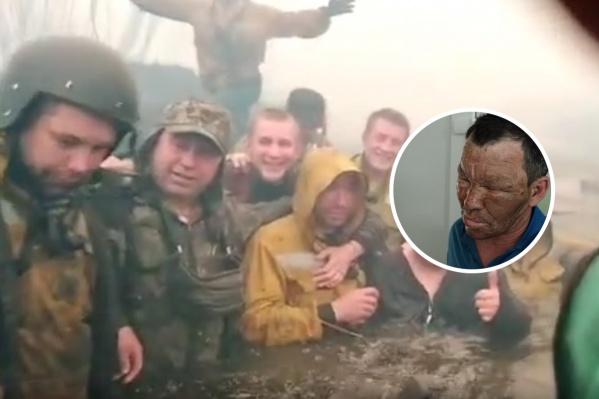 Свердловские пожарные спаслись от огня в реке. Без пострадавших не обошлось