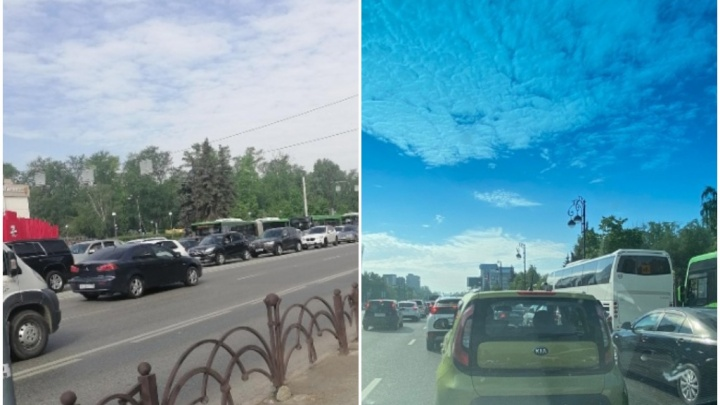 В городе пробки, по Мельникайте частично закрыли проезд. Что случилось в Тюмени?